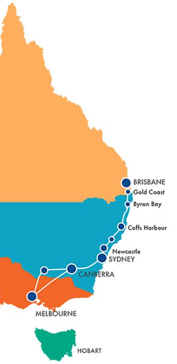Artline Supply Map